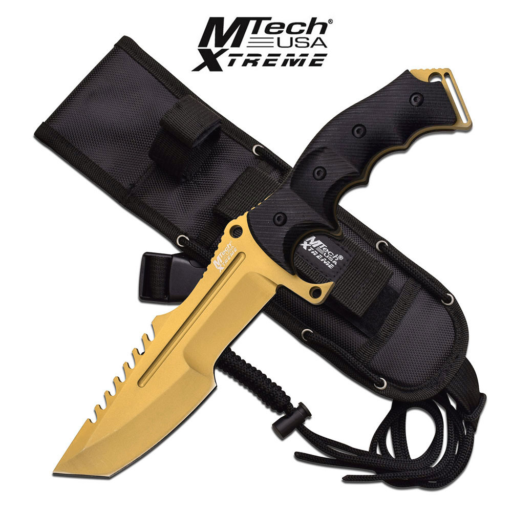 FIXED-BLADE TACTICAL KNIFE | Mtech Heavy Duty Military ...