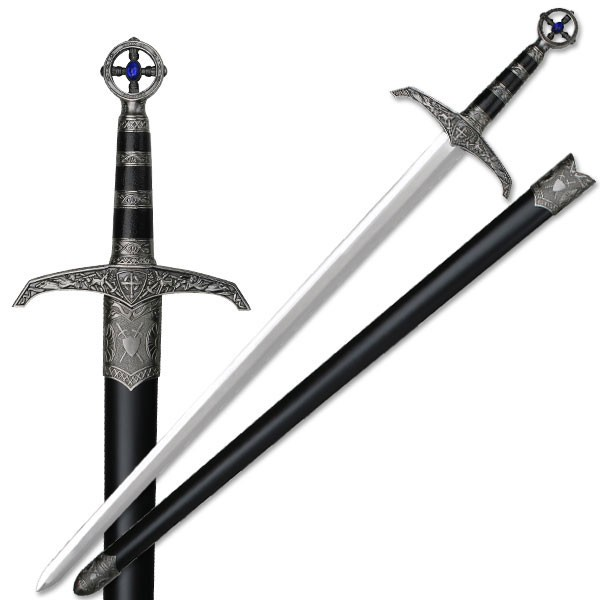 37quot heavy medieval great sword long sword robin hood