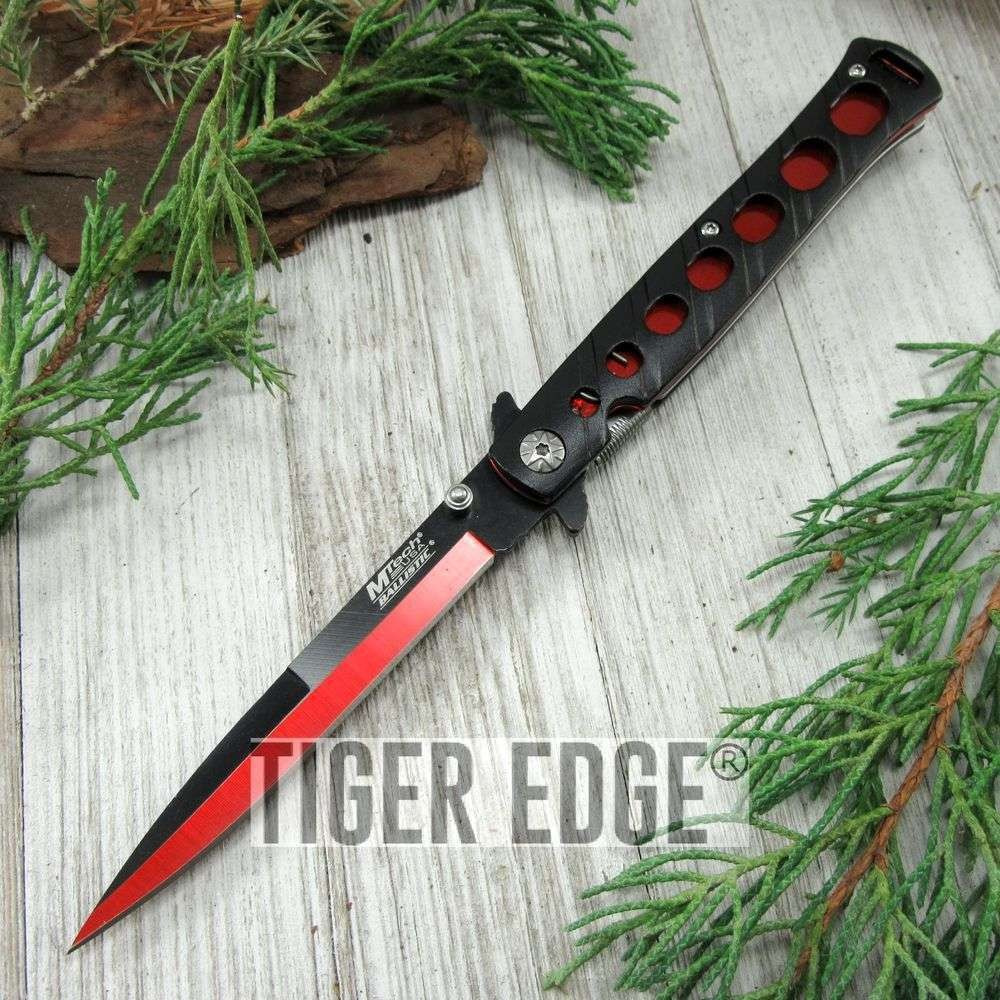 Spring-Assisted Folding Pocket KnifeBuckshot Black Tanto Blade Rainbow Liner