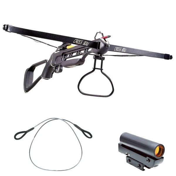Rifle Crossbow 150 Lb Draw Weight 210 Fps Stringer And