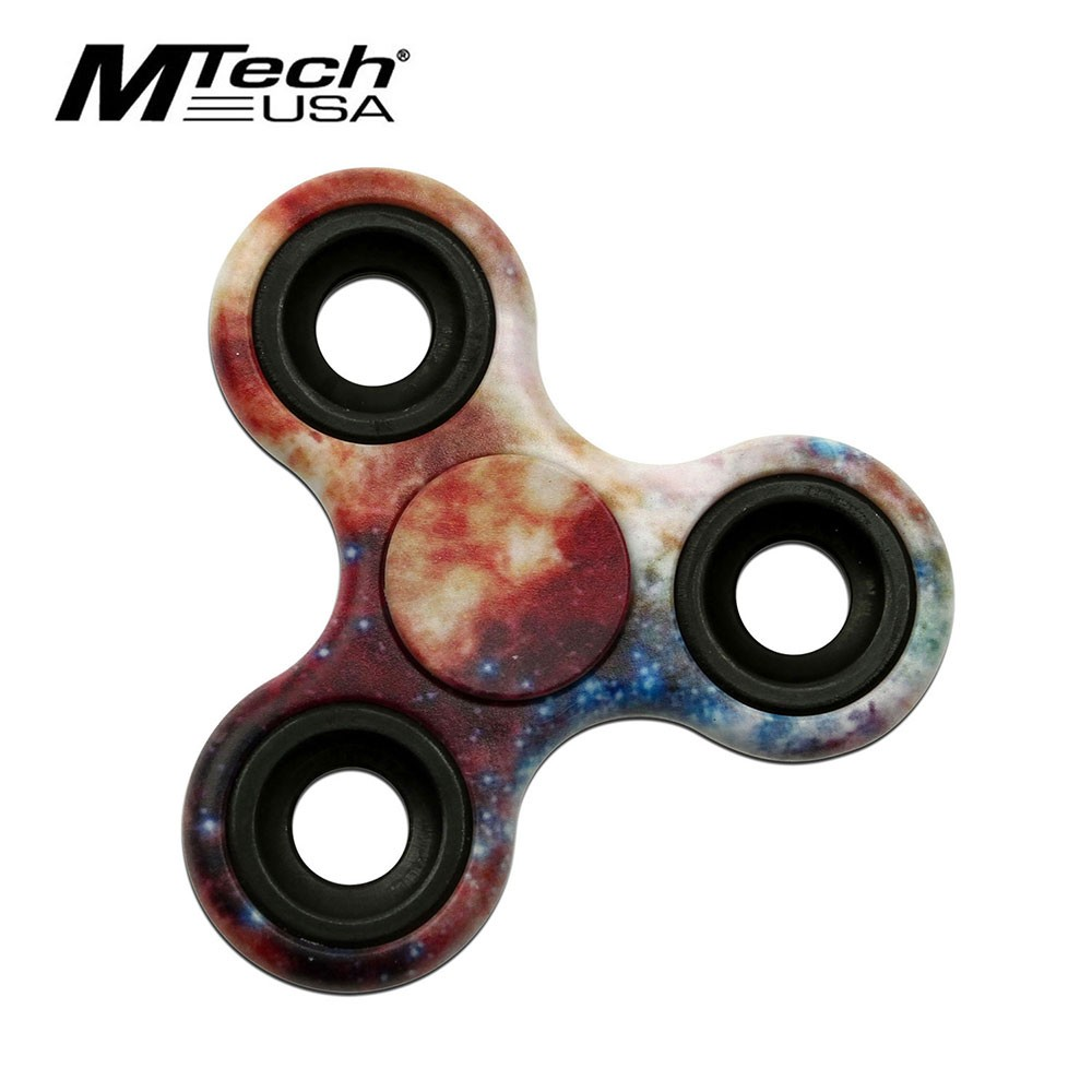 Fidget Spinner | Low-Cost Space Galaxy Stainless Steel Bearing Mt-Fsp003Glx