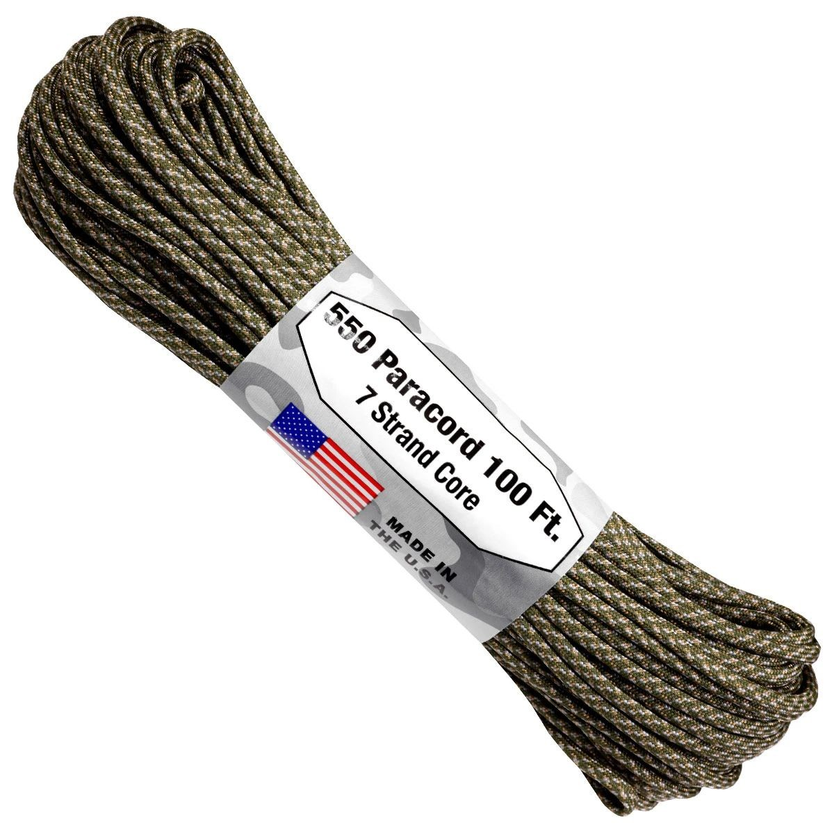 550 Paracord - 100ft - Digital ACU - Made in USA