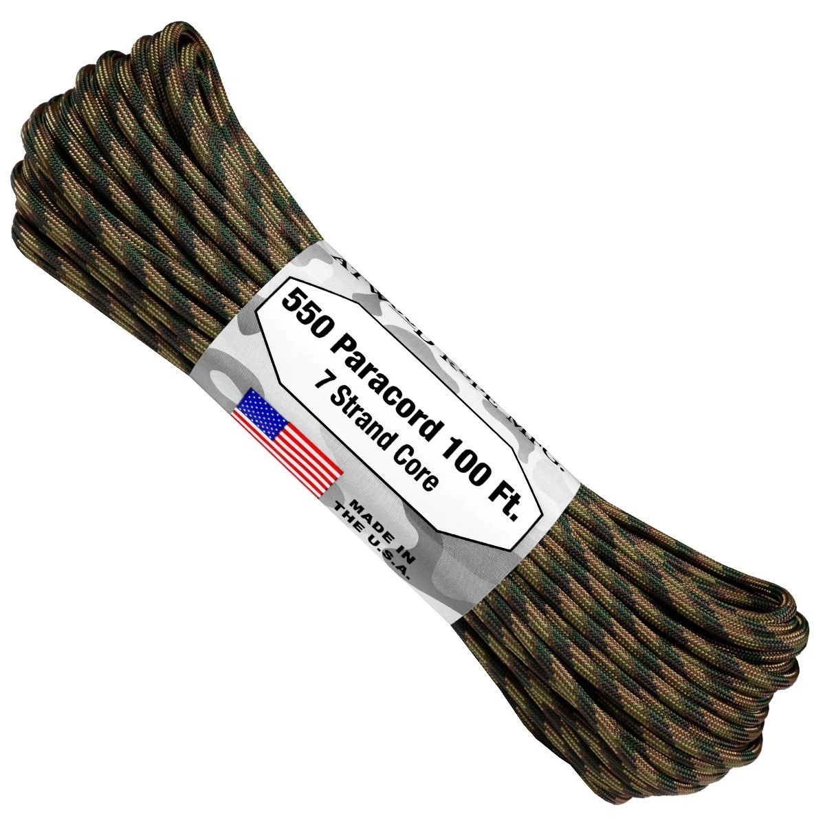 550 Paracord - 100ft - Recon - Made in USA