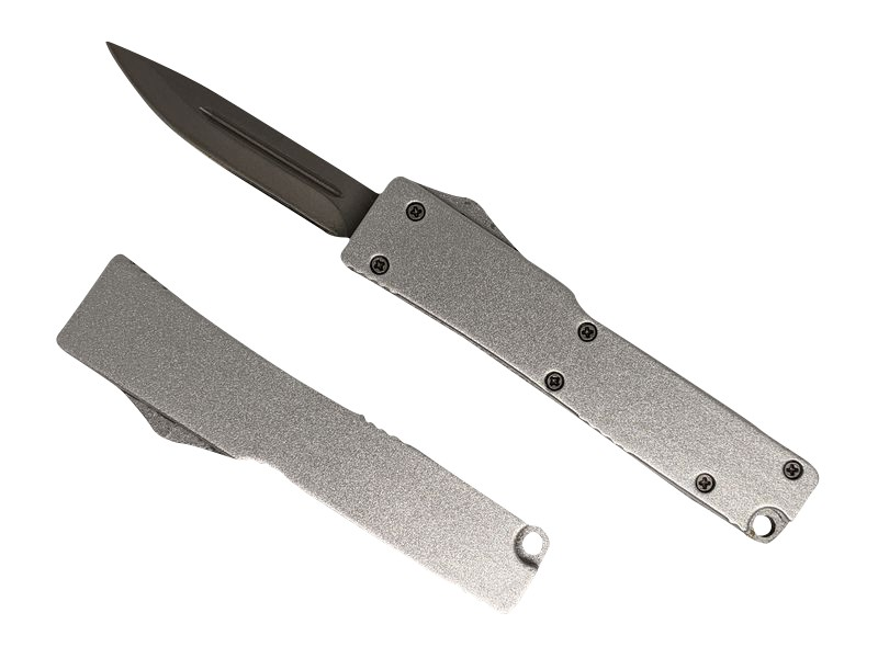 Mini OTF Automatic Knife - Gray WNS-PS5888GY